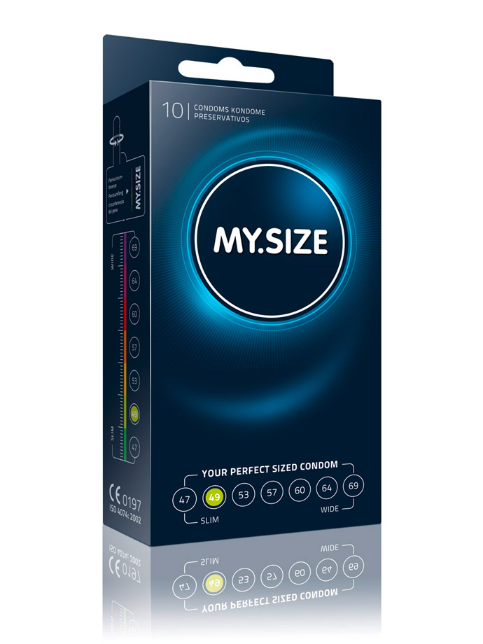 10 x MY.SIZE Condoms - Size 49