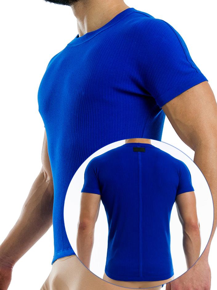 Modus Vivendi - Broaded T-Shirt - Blue