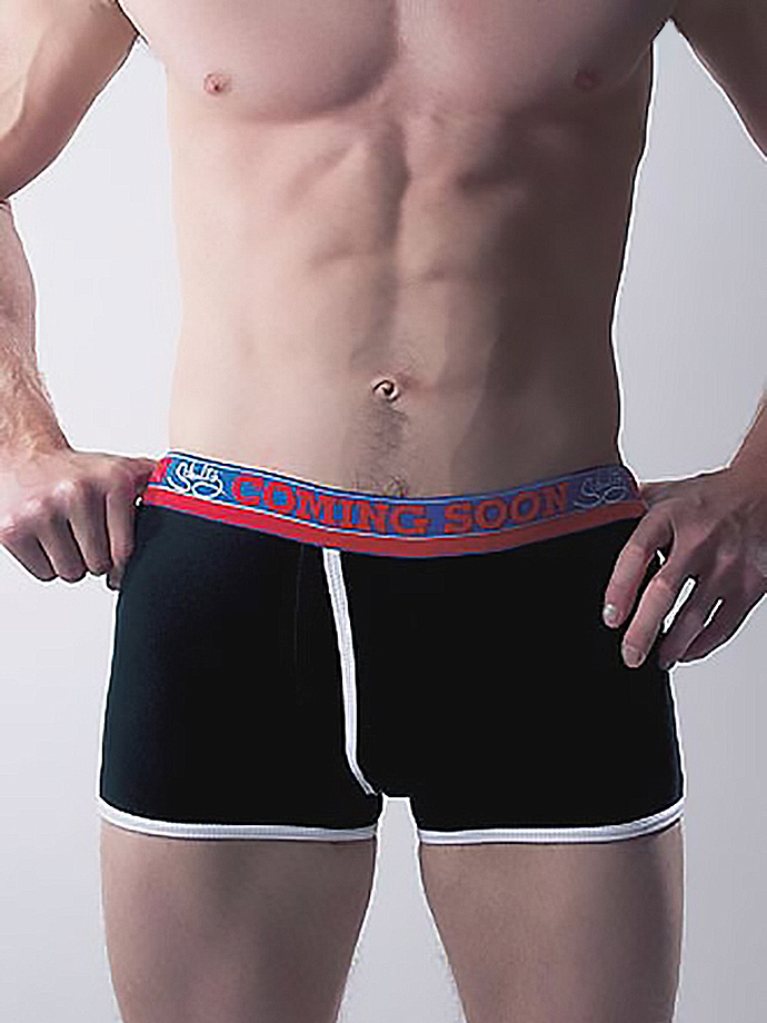 SchultzJeans - 'Coming Soon' Black Boxer Brief