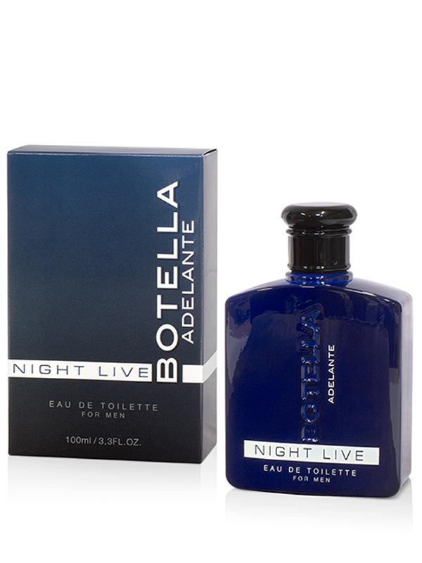Botella Night Live Eau de Toilette for Men 100 ml