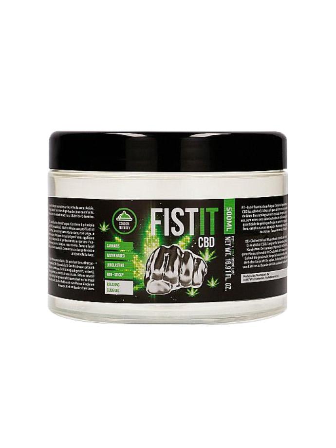 CBD FistIt - Water Based Lubricant 500 ml