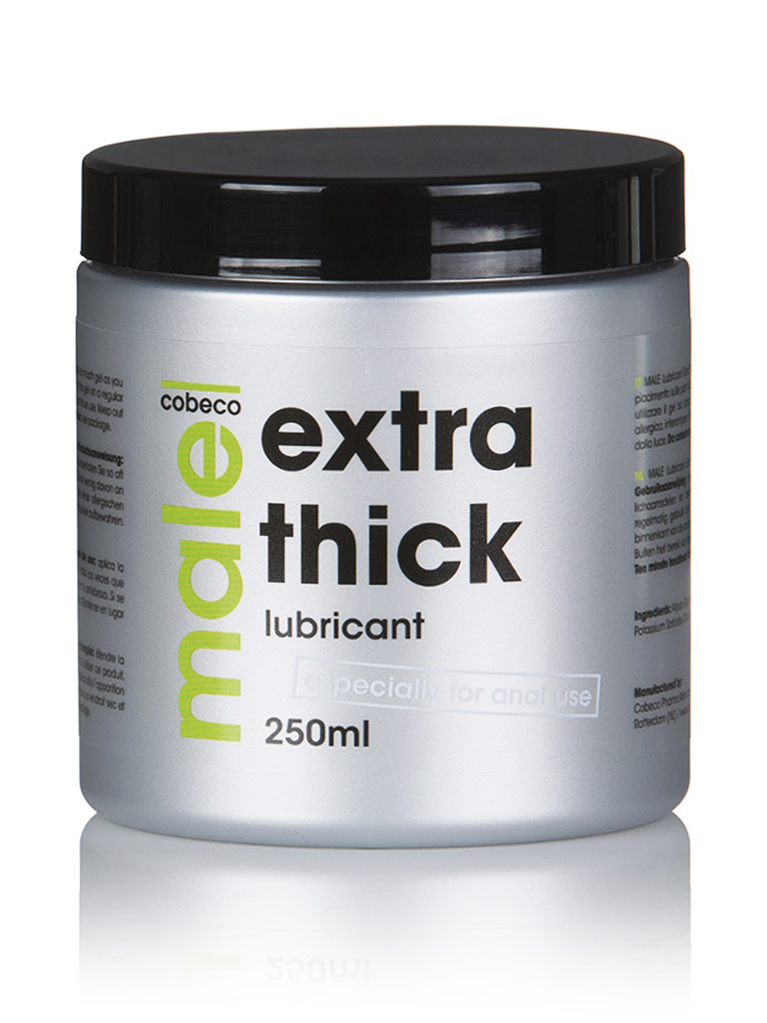 Male Extra Thick Lubricant 250 ml