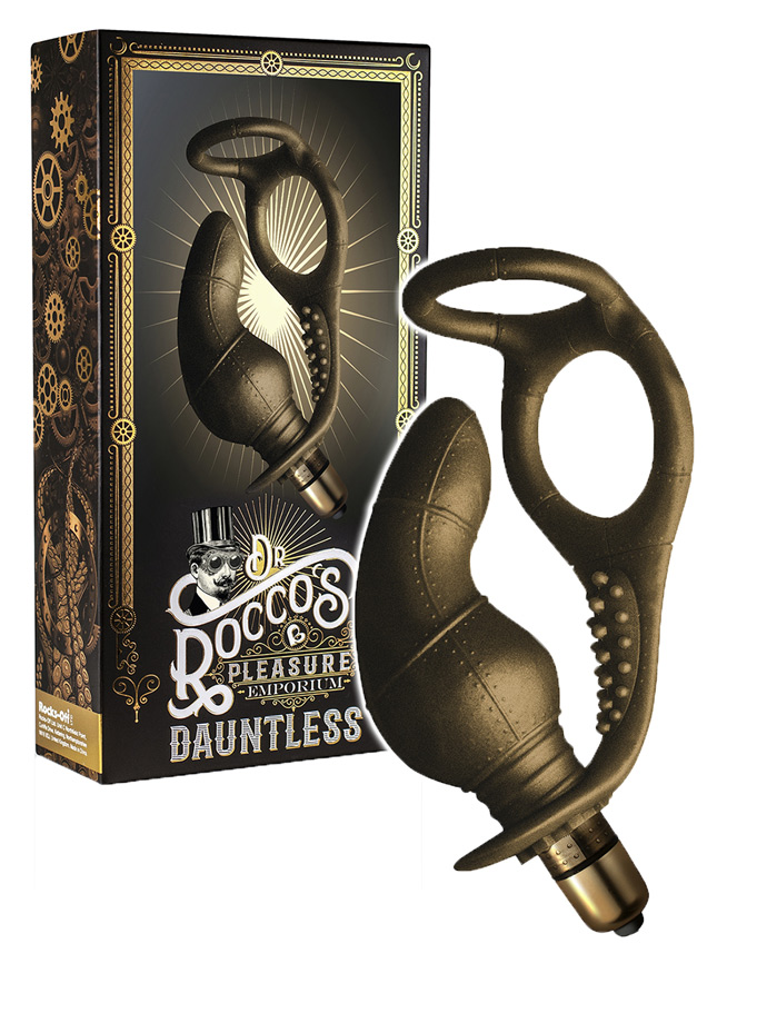 Dr. Roccos - Dauntless Prostate Massager with Double C-Ring