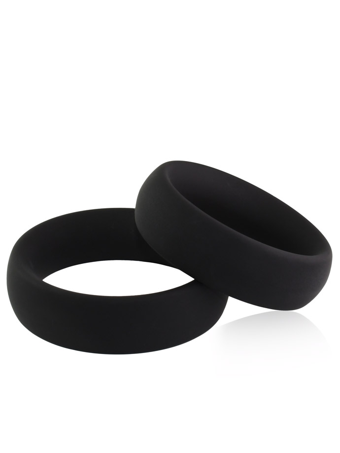 Silicone Donut Cockring Duo Set