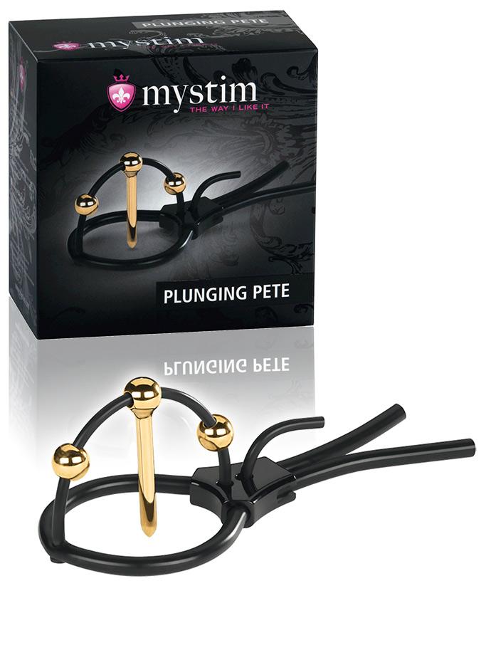 Mystim Plunging Pete E-Stim Corona Strap