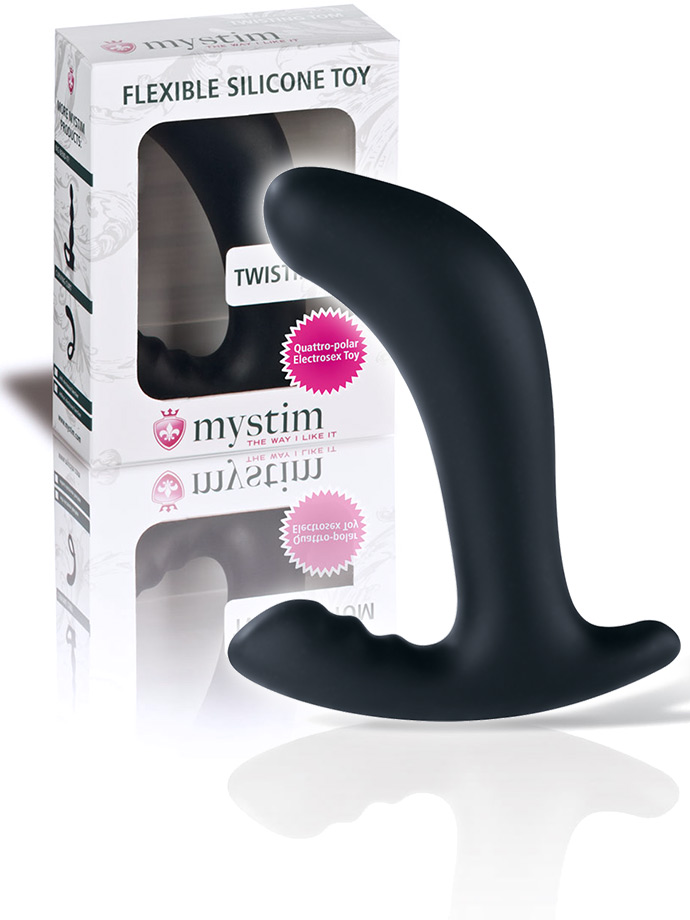 Mystim Twisting Tom - Prostate Stimulator with E-Stim