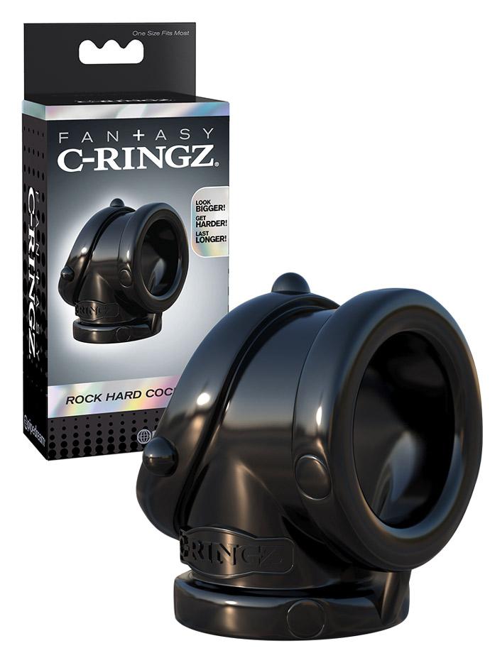 Fantasy C-Ringz - Rock Hard Cock Pipe Black