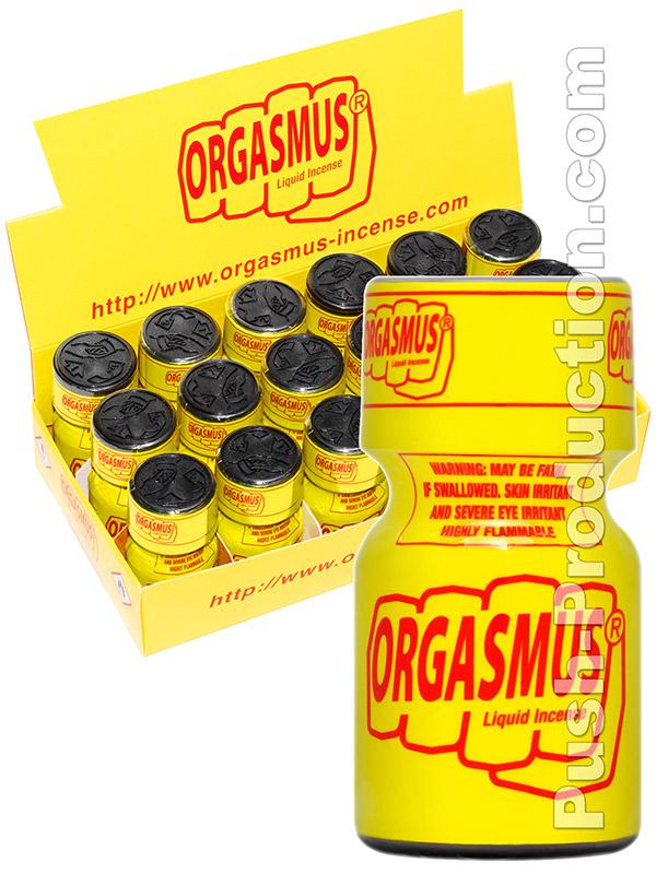 BOX ORGASMUS - 18 x ORGASMUS LIQUID INCENSE