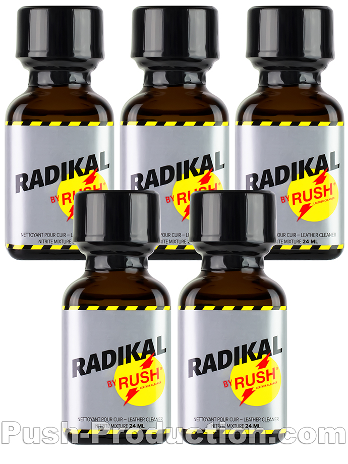 5 x RADIKAL RUSH big square bottle - PACK