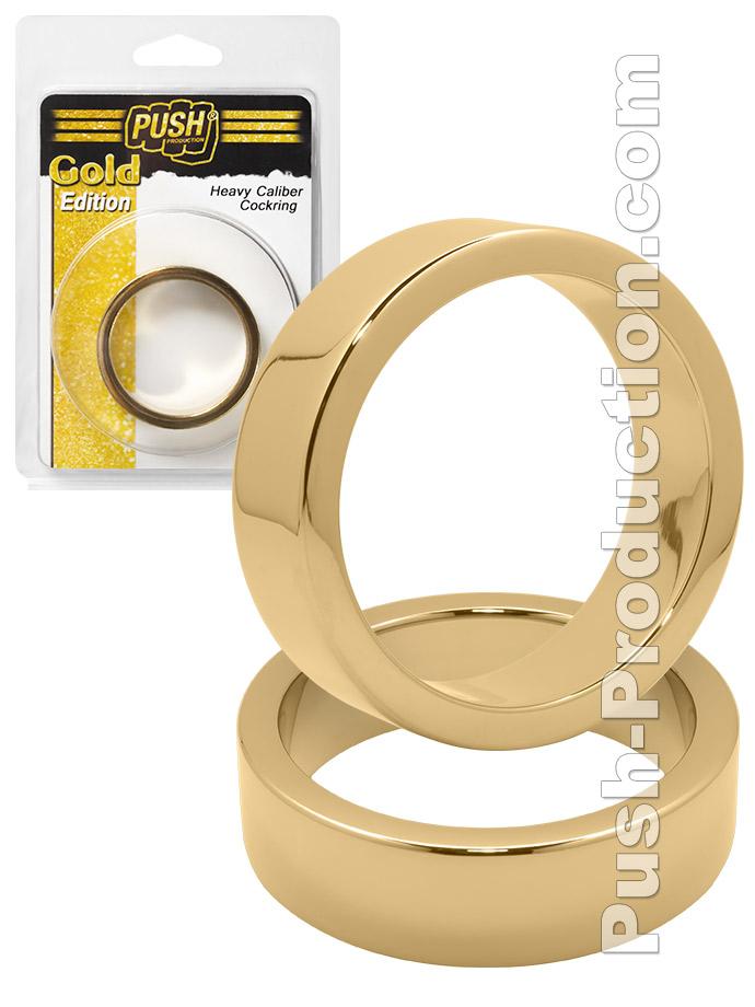 Push Gold Edition - Heavy Caliber Cockring