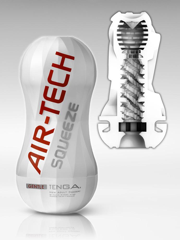 Tenga - Air-Tech Squeeze Reusable Vacuum Cup - Gentle