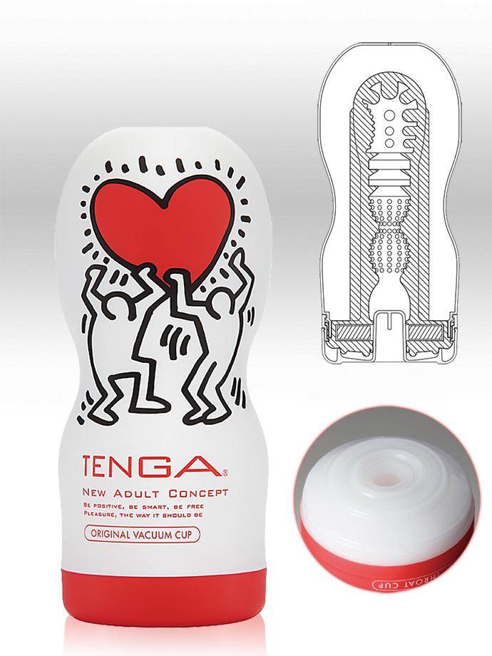Tenga - Original Vacuum Cup - Keith Haring