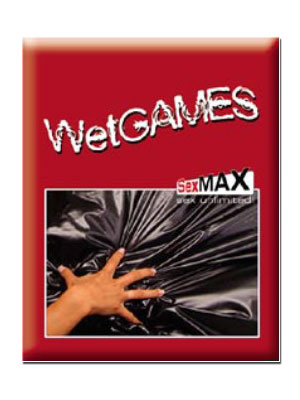 Wet Games Sex-Laken - red 180x220 cm